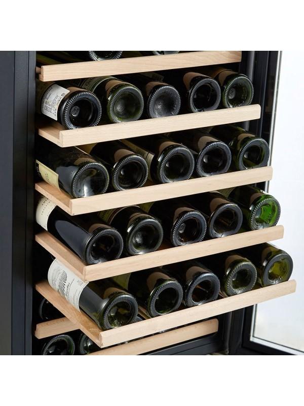 Kalamera 4.2 Cu.ft 50 Bottle Best Wine Fridge Cabinet Single Zone Wine Cooler Refrigerator
