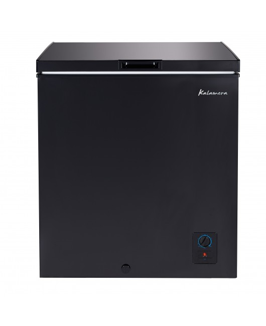 Kalamera 5.0 Cu.ft compact upright deep freezer freestanding small chest freezer for home/apart with lowest -4℉