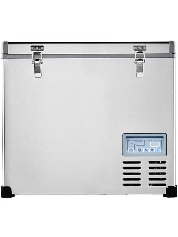 Kalamera 2.3 Cu. ft 60 Quart Portable Refrigerator/Freezer Stainless-steel AC 110V / DC 12/24V