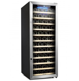 Kalamera 7.1 Cu.ft 80 Bottle Freestanding Compressor Wine Cooler