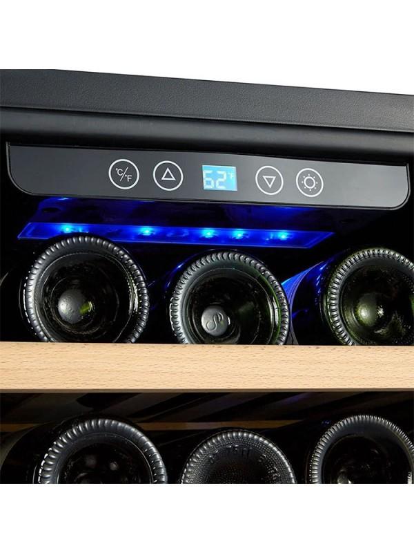 Kalamera 7.1 Cu.ft 80 Bottle Freestanding Compressor Wine Cooler
