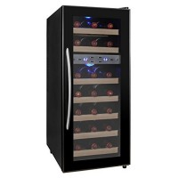 The KALAMERA 21 Bottle Dual Zone Thermoelectric Freestanding Wine Cooler